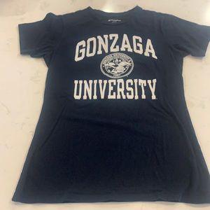 Navy Gonzaga University Champion Tee Shirt